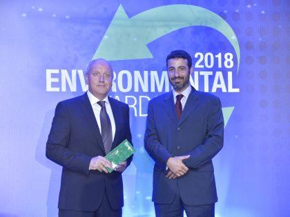 Grand Award στα Environmental Awards 2018 για τη SUNLIGHT Recycling στην κατηγορία Κυκλική Οικονομία