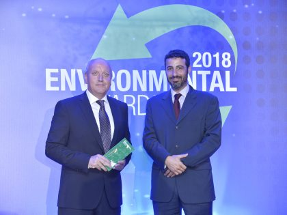 """Grand Award at the Environmental Awards 2018 for SUNLIGHT Recycling in the category """"Circular Economy"""""""