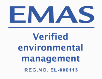 Sunlight Recycling becomes the first recycling unit of lead accumulators in Greece that is certified according to the EMAS standards