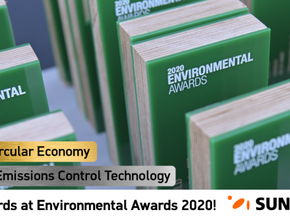 SUNLIGHT: Double distinction at the Environmental Awards 2020